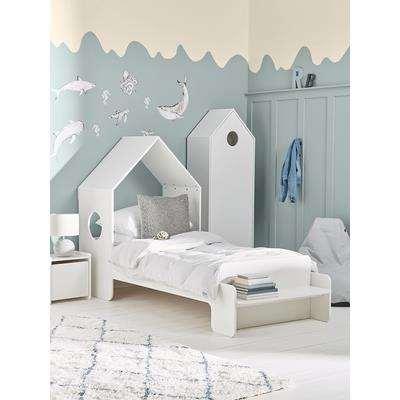 Beach House Bed - White