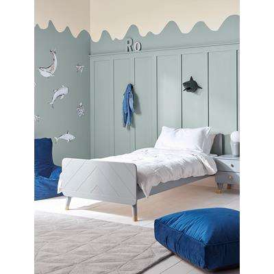 Lowen Bed - Soft Grey