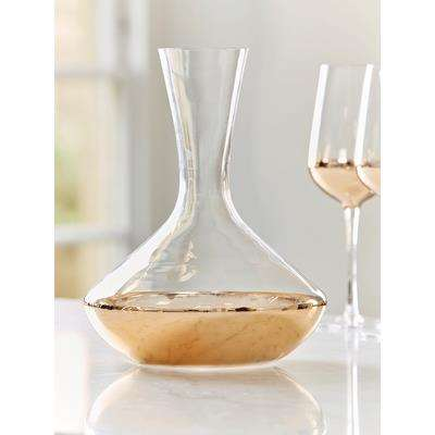 Dipped Gold Decanter