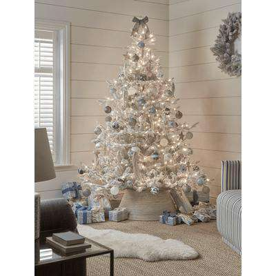 NEW Frosted Fir Pre-Lit Christmas Tree