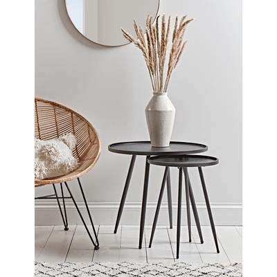 Round Industrial Side Table - Large