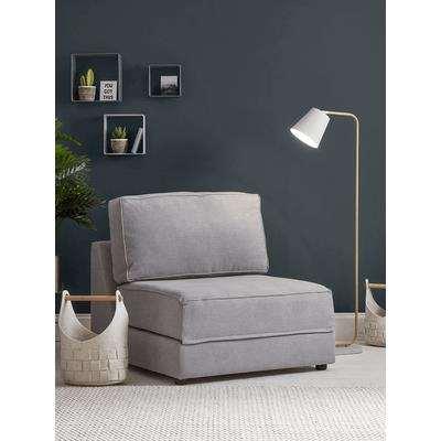 Single Hideaway Bed - Grey