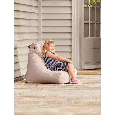 Indoor Outdoor Kids Beanbag - Soft Blush