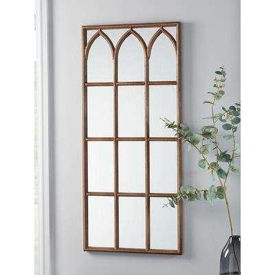 Indoor Outdoor Rectangular Gothic Mirror