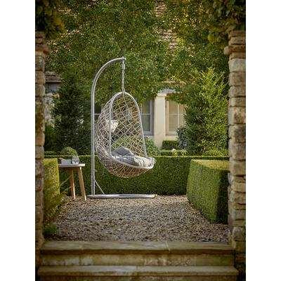 Indoor Outdoor Slim Hanging Chair - Grey