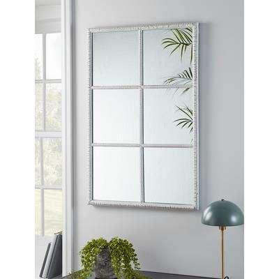 Indoor Outdoor White Window Mirror