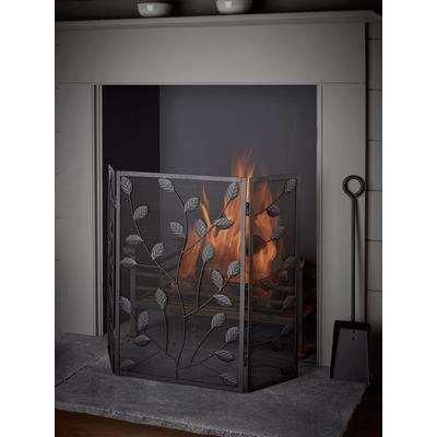 Leaf Folding Fire Screen