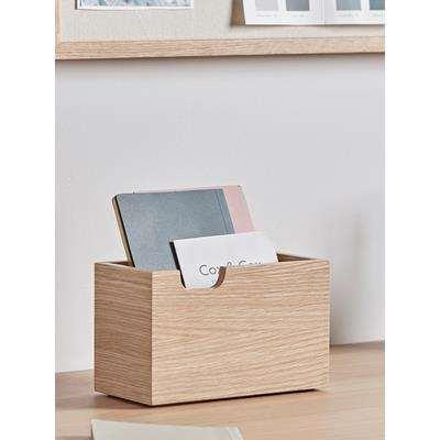 Oak Desk Tidy