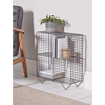 Open Wire Cube Shelf Unit