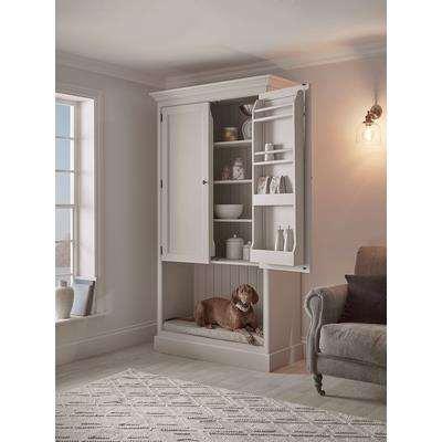NEW Pet Bed Larder Cabinet - Soft Grey