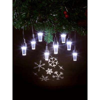 NEW Projector Festoon Lights - Snowflakes