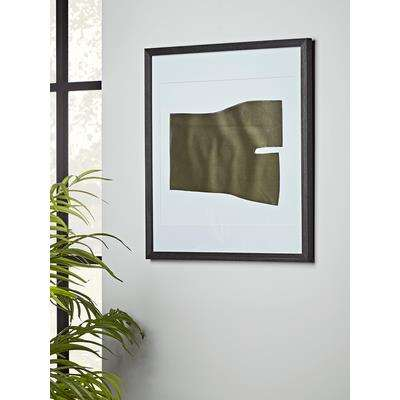 Rolled Metal Framed Wall Art
