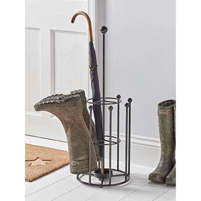 Round Umbrella Stand & Boot Rack