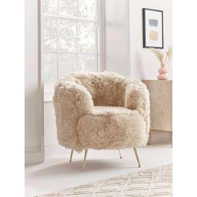 NEW Sumptuous Sheepskin Tub Chair