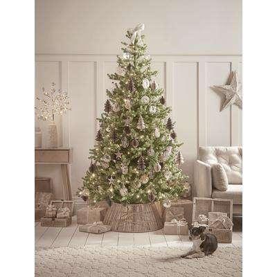 NEW Young Pine Pre-Lit Christmas Tree