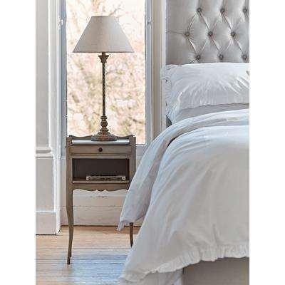 Normandie Slim Bedside Table