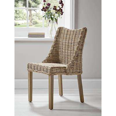 Round Rattan Dining Chair
