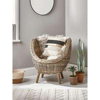 Round Rattan Tub Chair