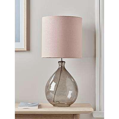 Sanna Smoke & Blush Table Lamp