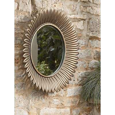 Sunburst Outdoor Mirror