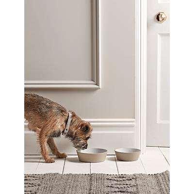 Taupe Pet Bowl - Large