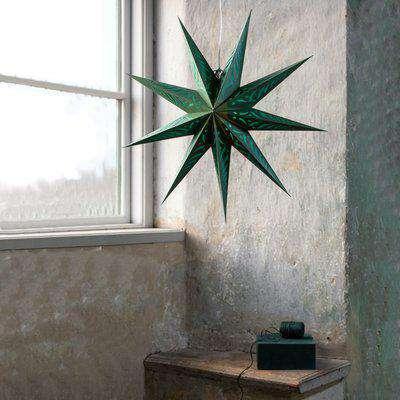 Giant Star Decoration - Emerald