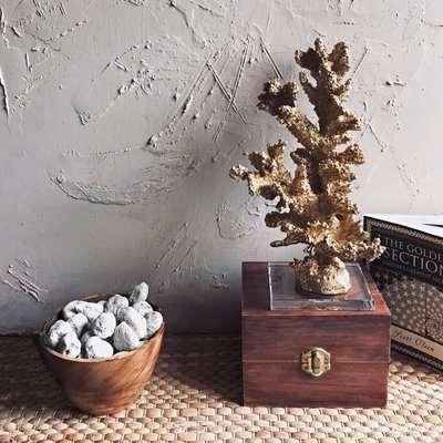 Ornamental Coral - Gold