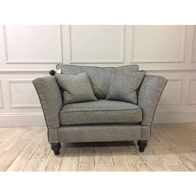 Ampleforth Snuggler in Garbo Mosaic Fabric with Knoles and studding