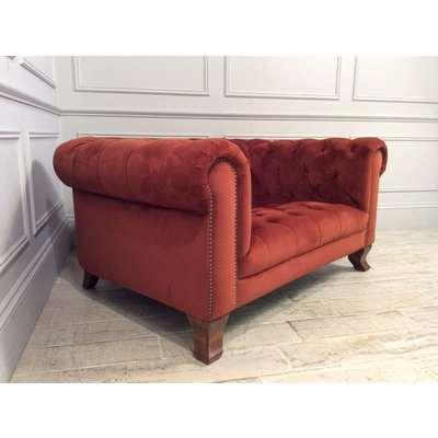 Arundel Snuggler in Plush Marmalade Fabric