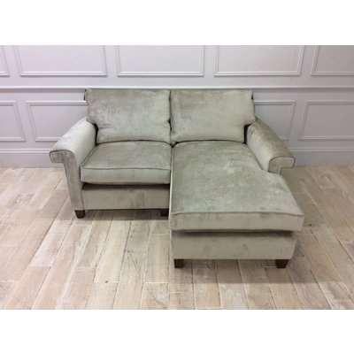 Domus by Duresta Haywood Right Hand Chaise Sofa in Dolce Jasper Velvet