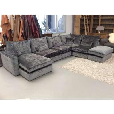 Harry U shape corner sofa with chaise