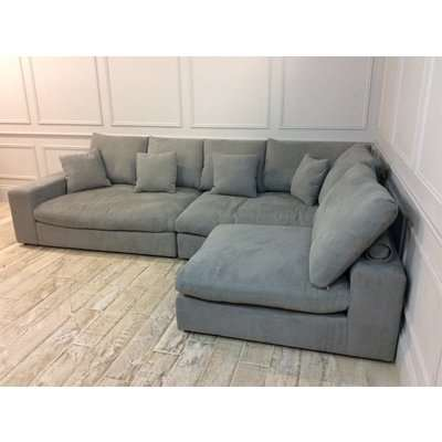 Haymarket Extra Deep Sofa in Hippo