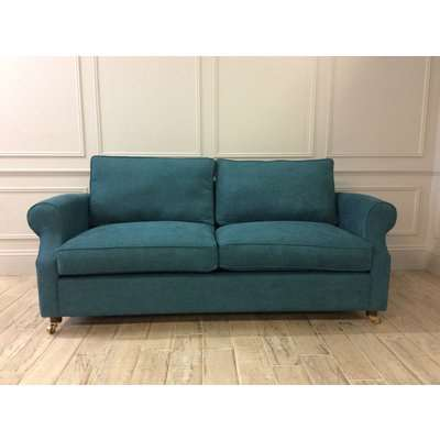 Kendal 3.5 Seater Sofa Bed in Stain Resistant Chenille Pacific