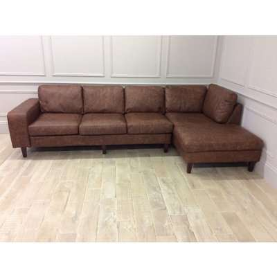 Kingly 4 Seater Sofa with Right Chaise