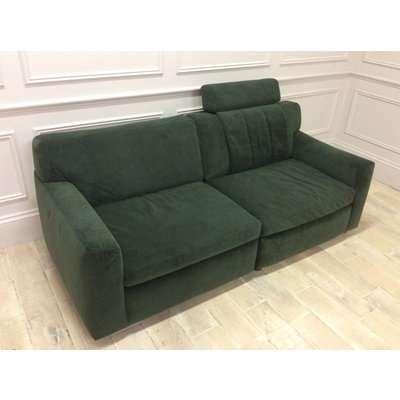 Lana 3 Seater Sofa with Storage Unit in Velvet Brezza 09