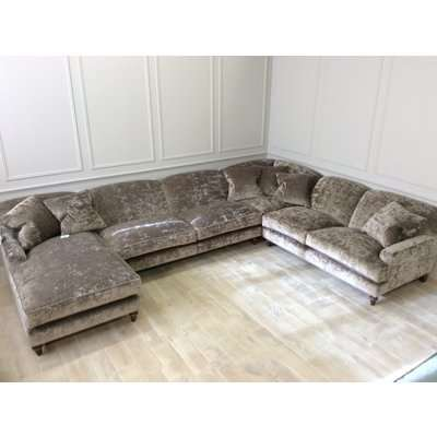 Large Galloway U shaped corner with chaise