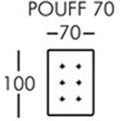 Morellia Modular Small Footstool [PUF75]