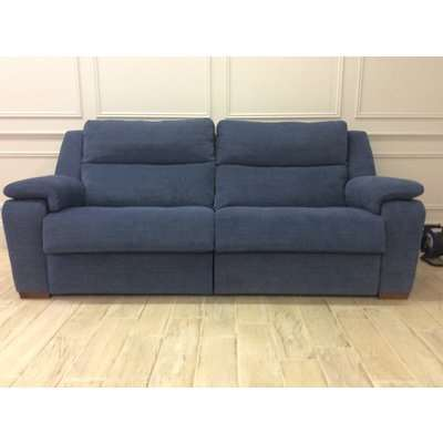 Nora 4 Seater Sofa with Electric Recliners [MR1+MR2] - in Club Chenille - Club 45