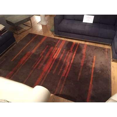 Orange Stripe Wool Rug (T/W)
