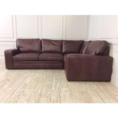 Sloane 3 x 1.5 Seater Corner Sofa Bed in Crystal Hazel