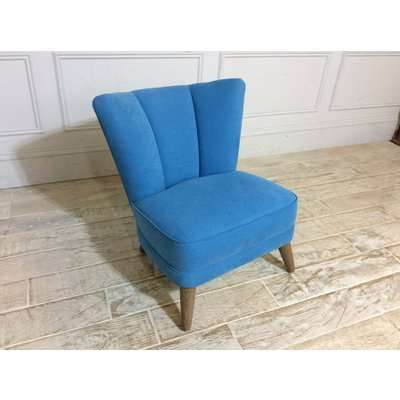 Waverley Chair in Brushed Cotton Cadet
