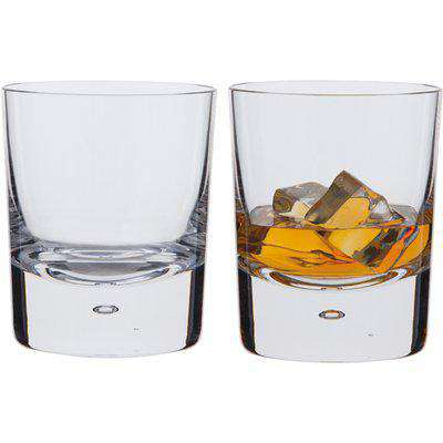 Exmoor Double Old Fashioned Whisky Glass, Set of 2