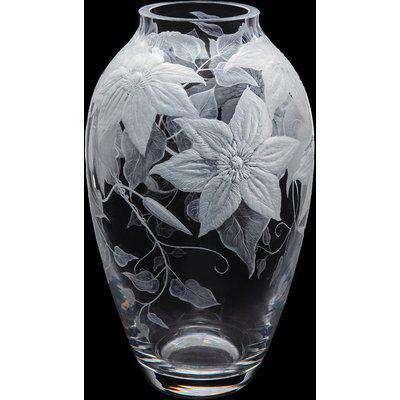 Jardin Clematis Medium Vase