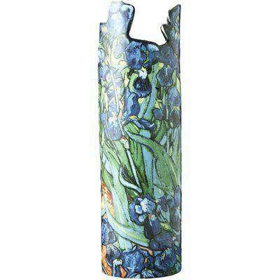 Silhouette D'art Vase - Van Gogh Irises