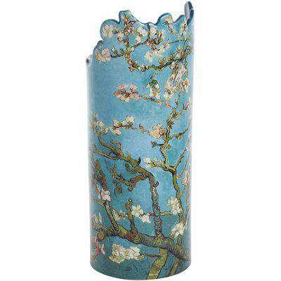 Silhouette D'art Vase - Van Gogh Almond Tree in Blossom