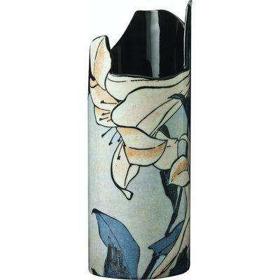 Silhouette D'art Vase - Hokusai - Lilies