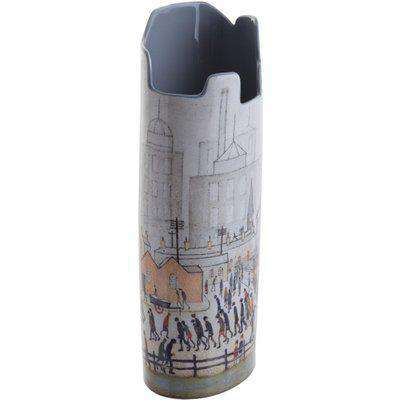 Silhouette D'art Vase - Lowry - Coming from the Mill