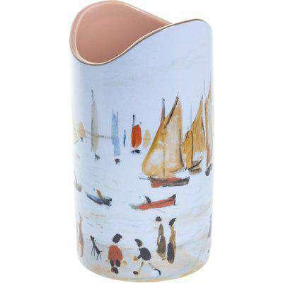 Silhouette D'art Vase - Lowry - Yachts