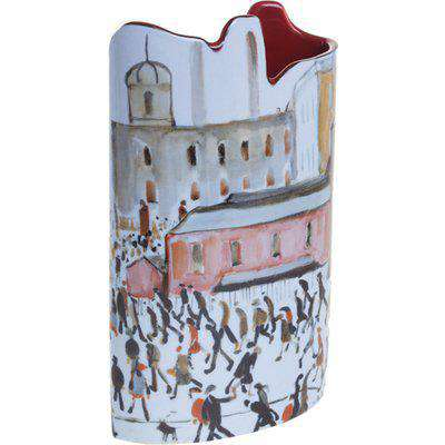 Silhouette D'art Vase - Lowry - Going to Work