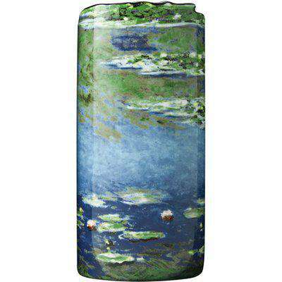 Silhouette D'art Vase - Monet - Water Lilies